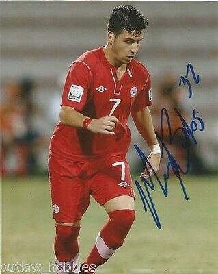 Team Canada Marco Bustos Autographed Signed 8x10 Photo COA