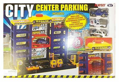 City Center Parking Playset
