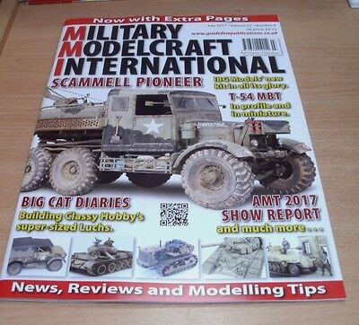 Military Modelcraft International magazine JUL 2017 IBG T-54 MBT, Show Report &