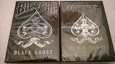 BLACK GHOST LEGACY EDITION & STANDARD EDITION Playing Cards Ellusionist NEW