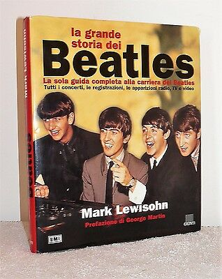 grande LIBRO BEATLES la grande storia dei - MARK LEWISHON music book