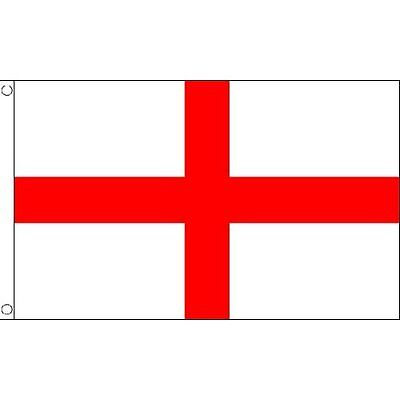ENGLAND ST GEORGES CROSS FLAG 3FT x 2FT New Free UK Postage