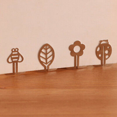100pcs/lot Bookmarks Metal Cute Bookmark Book Mark Stationery Office Accessories