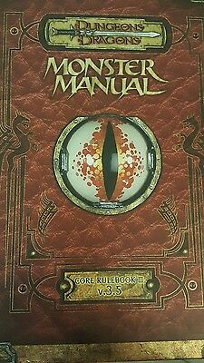 dungeons and dragons 3.5 monster manual