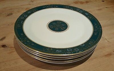 6 Royal Doulton Carlyle Dinner Plates