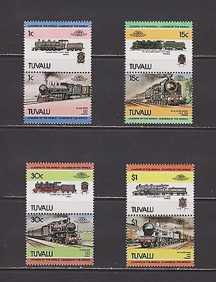 Tuvalu- Lot 4182, Mint, NH.  Trains.