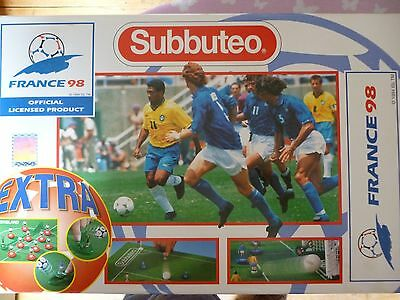 Subbuteo France '98 3 Team Set England, Brazil + France L@@k Good Condition