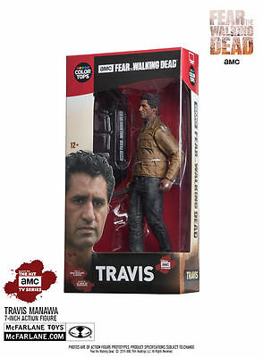 Travis Manawa Fear The Walking Dead Color Tops #3 Red Wave 18 cm Figur McFarlane