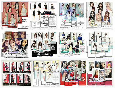 AOA Ace Of Angels 에이오에이 in-album Photo Card SET