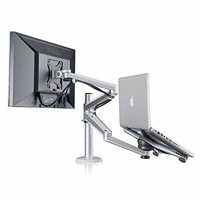 Adjustable Aluminium Universal Laptop Notebook & Computer Monitor Stand Desk Arm