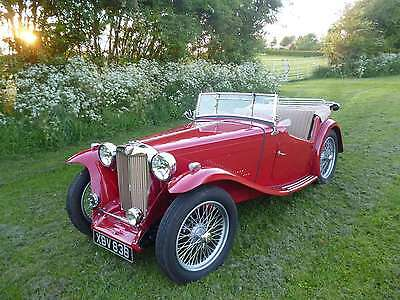 1948 MG TC - Superb Condition, Numbers Matching