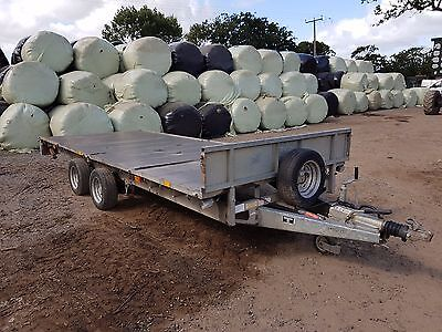 ifor williams trailer 16ft 6ft 6 inch tows very well 3.5ton