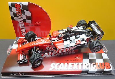 Scalextric Spainish 2006 F1  Club Car  A10????s300 New Mint/boxed Ltd Edition