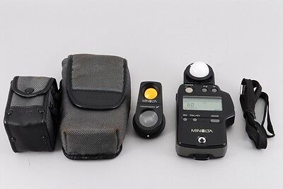 """Excellent+++"" Minolta Auto Meter IV F Flash Light Meter W/Viewfinder fromJapan"