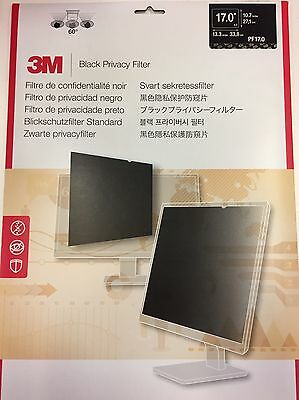 Brand New 3M Black Privacy Filter for (17 inch, Standard 5:4) PF17.0 -