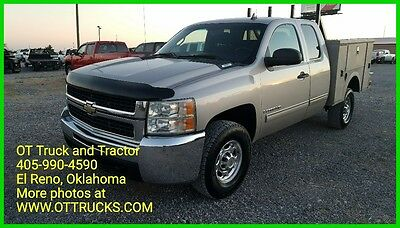 2009 Chevrolet Silverado 2500 LT 2009 Chevrolet 2500HD 4wd Extended Cab Utility Bed 2500 6.0L Gas