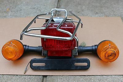 Honda Spree Nq50 Rear Metal Rack Turn Signal Assembly Brake Tail Light Lamp Oem