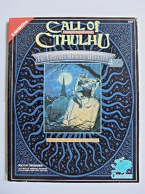 THE COMPACT ARKHAM UNVEILED, CALL OF CTHULHU, 2356, c/w MAP & NEWSPAPER, CoC