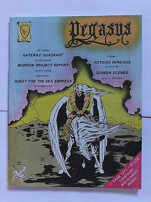Pegasus Issue 5, Judges Guild, Runequest, Ad&d, Traveller