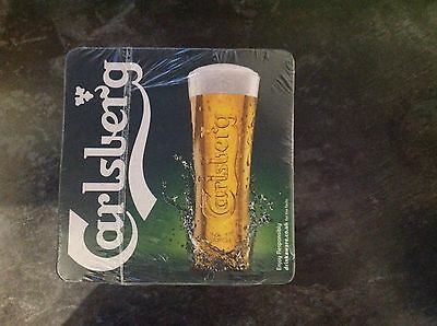 Carlsberg Beer Mats Brand New And Sealed X100