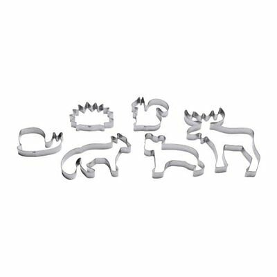DRÃ-MMAR Pastry cutter, set of 6, silver-colour, Comprises pastry cutters shaped