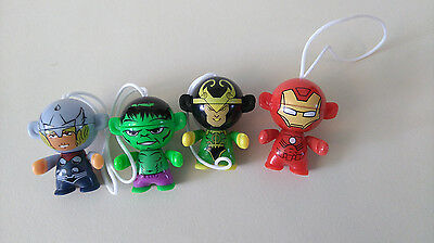 4 Kinder Surprise Marvel Toys