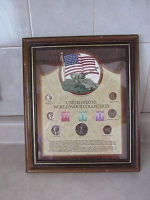 United States World War 2 Coin And Stamp Collection