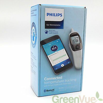 NEW Philips Connected Digital Ear Thermometer Quick Accurate Measurement 3B2-3