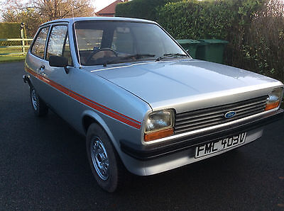 Ford Fiesta 1300S Mk1, 34000 Miles from NEW!! I'm the 2nd Owner!