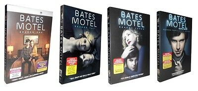 Bates Motel: The Complete Seasons 1-4 (DVD, 2016, 12-Disc Set) 1 2 3 4