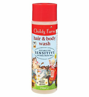 Child's Farm Hair & Body Wash For Dirty Rascals 250ml