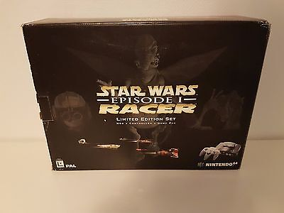 Nintendo 64 Console - Starwars Episode 1 Racer - Limited edition - PAL