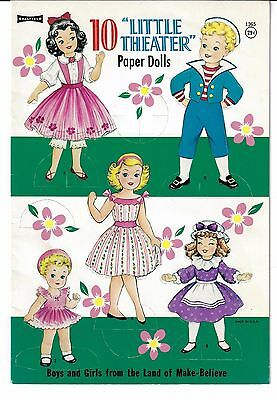 Paper Doll Book 10  LITTLE THEATER, COMPLETE AND IN GOOD CONDITION