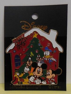 Disney Pin Japan M&P History of Art Pin Merry Christmas 2007 Fab 5 LE400 New