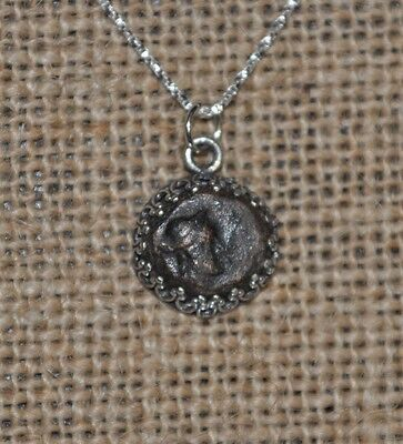 Cleopatra Egypt Queen Authentic Ancient Coin 925 Solid Sterling Silver Necklace