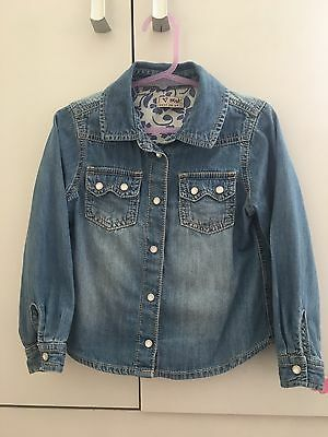 Next Girls Denim Shirt 2-3 Years