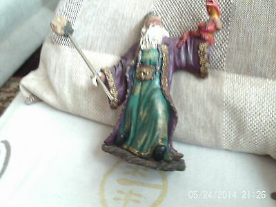 wizard porclain ornament