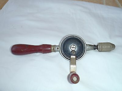 Vintage Stanley 100 Plus No. 610 Hand Crank Egg Beater Style Drill