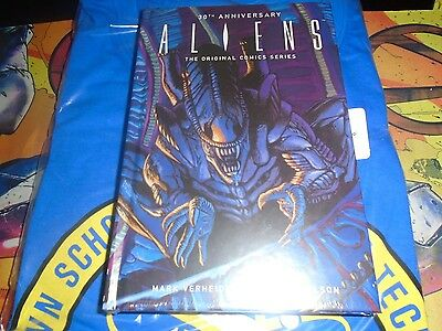 Loot Crate EXCLUSIVE 30th Anniversary Aliens Hardcover Book