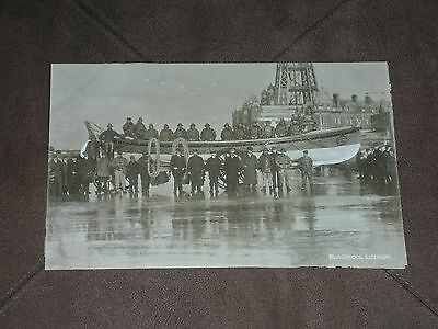 Blackpool Lifeboat Vintage Fundraising postcard unused   Lancashire