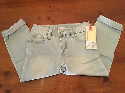 Cherokee Girls' Super Skinny Light Rinse Crop Jeans - Size 5 - NWT