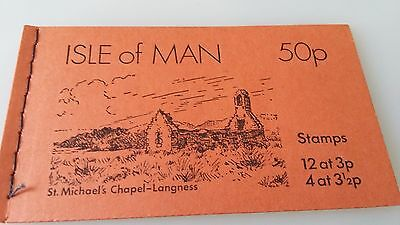 Isle of Man Stamp Booklet 1973 30p inverted panes SB3