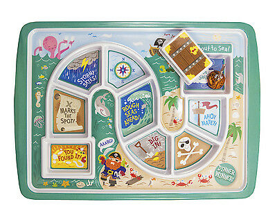 Kids dinner winner plate - Pirate by Fred and Friends