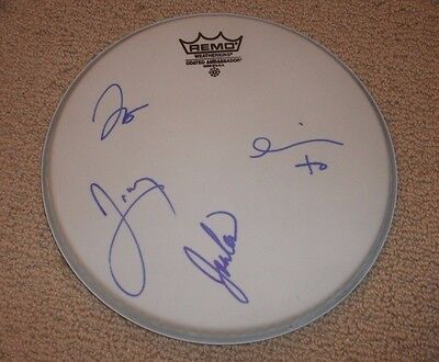 Metric - AUTOGRAPHED DRUMHEAD *BAND SIGNED* Emily Haines