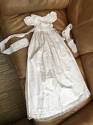 Lovely Old Antique Babies Christening Gown - Victorian??