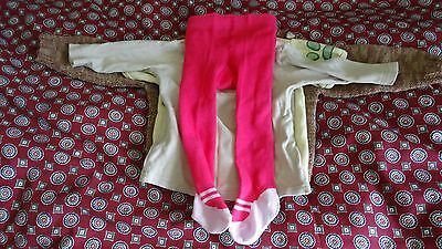 Large baby girl clothes bundle 3-9 months 6 items