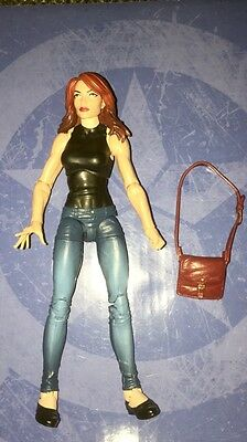 loose marvel legends MARY JANE  Spider man  2pk  movie book cartoon avengers