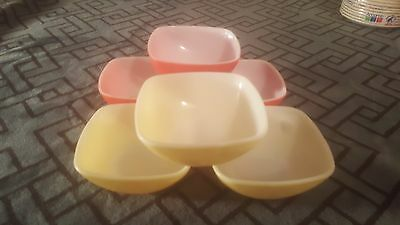 Set Of 6 Vintage Pyrex Berry Bowls 3 Or Each