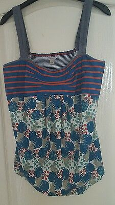 Ladies Fat Face size 14 summer top great condition