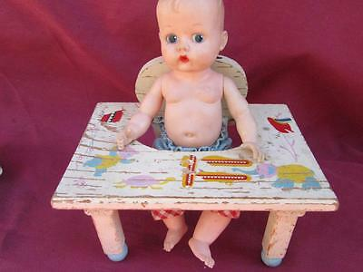 Vintage Ginny 7 Inch Vogue Ginette At Her Fun Play Desk In Excellent Condition
